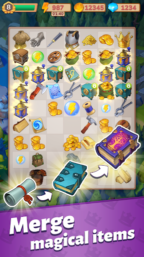 Merge Master u2013 Adventure Puzzle Apkfinish screenshots 3