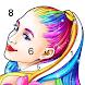 カラーリングファン: 数字で塗り絵ゲーム