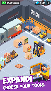 Idle Courier Tycoon - 3D Business Manager Unlimited Money