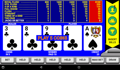 Video Poker Classic Double Up 6.20 screenshots 12
