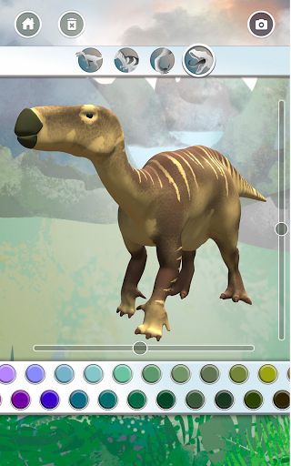 Dinosaurs 3D Coloring Book modavailable screenshots 11