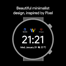 Pixel Minimal Watch Face - Watch Faces for WearOSのおすすめ画像5