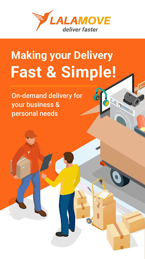 Lalamove - 24/7 On-Demand Delivery App 103.5.1 Screenshots 1