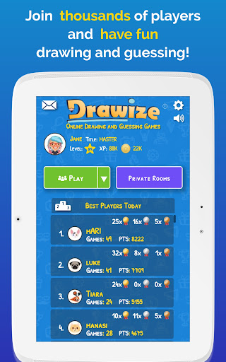 Drawize - Draw and Guess  screenshots 17