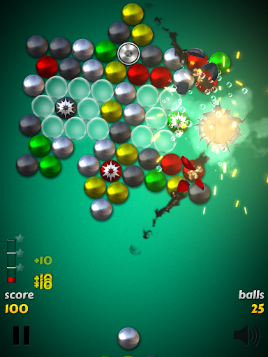 Magnet Balls Free: Match-Three Physics Puzzle screenshots 9