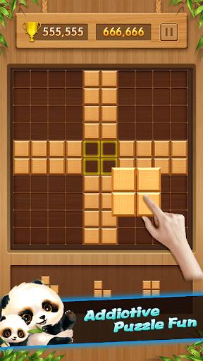 Wood Block Puzzle - Classic Wooden Puzzle Games 1.0.1 screenshots 5