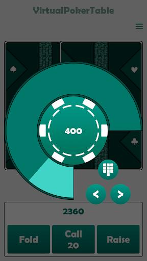 Virtual Poker Table : Cards, Chips & Dealer  screenshots 4