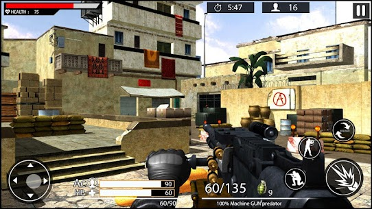 Machine Gun Shoot War Shooter 2k18 Game Hack Android and iOS 1