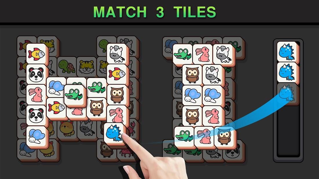Match Animal-Free Tile master&Match Brain Game screenshot 14