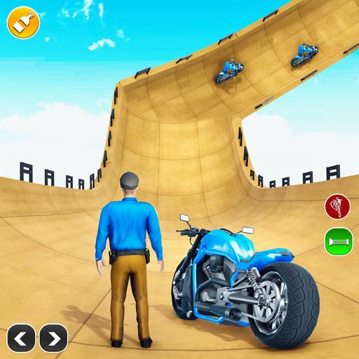 Police Bike Stunt: Bike Games