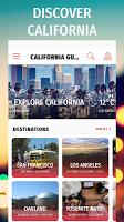screenshot of ✈ California Travel Guide Offline