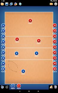 Coach Tactic Board: Volley