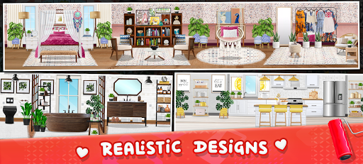 House Design: Home Cleaning & Renovation For Girls  screenshots 2