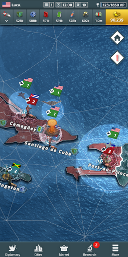 Conflict of Nations: WW3 Multiplayer Strategy Game 0.102 screenshots 8