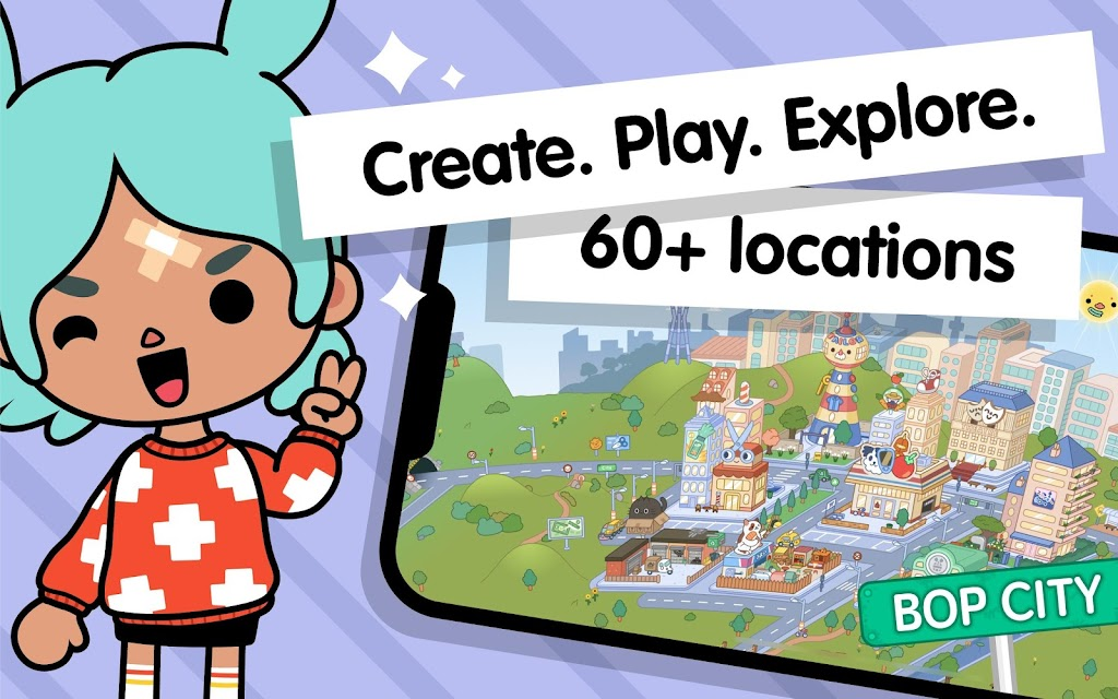 Toca Life World: Build stories & create your world  poster 7