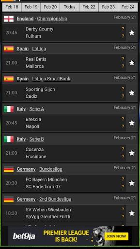Soccer Live Update  screenshots 2