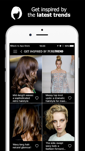 Style My Hair: Discover Your Next Look modavailable screenshots 11