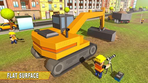 mega city canal construction & road builder screenshot 1