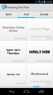 AmazingText Fonts Pack 1