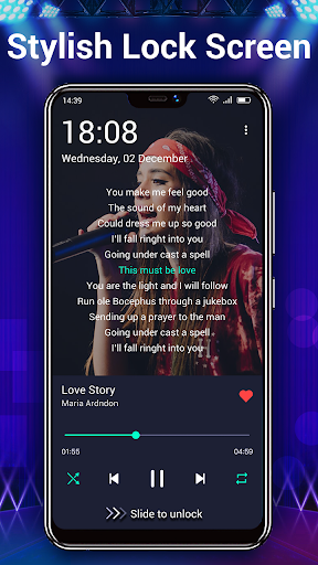Music Player - Audio Player & 10 Bands Equalizer android2mod screenshots 6