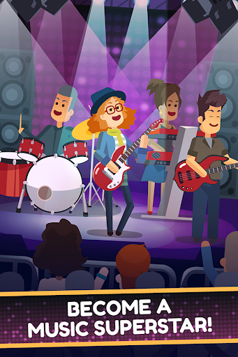 Epic Band Clicker - Rock Star Music Game  Paidproapk.com 2