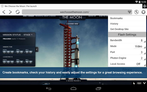 Photon Flash Player & Browser 5.9 screenshots {n} 6