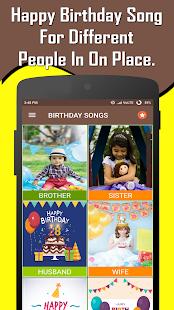Happy Birthday Songs Offline screenshots 2