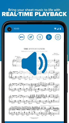 Musicnotes Sheet Music Player modavailable screenshots 3