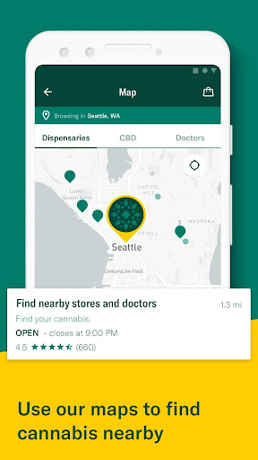 Leafly: Find your cannabis and CBD 7.15.0 Screenshots 5