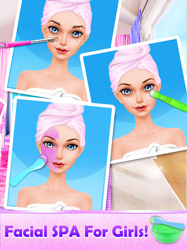 Makeover Games: Makeup Salon Games for Girls Kids 1.1 screenshots 4