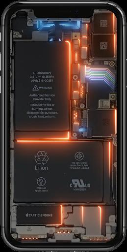 Phone Electricity Live Wallpaper  Screenshots 3