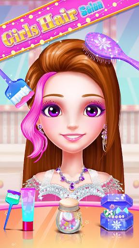ud83dudc87ud83dudc87Girls Hair Salon 3.0.5038 screenshots 4