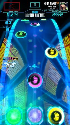 Neon FMu2122 u2014 Arcade Rhythm Game 1.8.0 screenshots 1