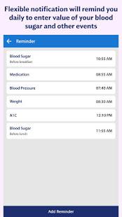 Blood Sugar Log – Diabetes Tracker