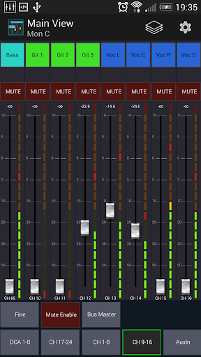 Mixing Station XM32 android2mod screenshots 2