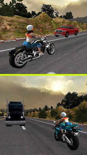Racing Girl 3D Apkfinish screenshots 8
