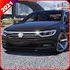 Extreme City Car Drive Simulator 2021 : VW Passat