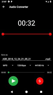 ASR Voice Recorder Screenshot