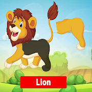 Puzzle For Kids - Learn English