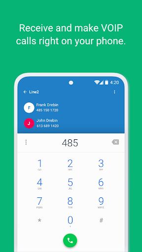 Line2 - Second Phone Number  screenshots 1
