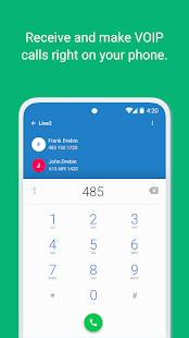 Line2 - Second Phone Number 5.3 Screenshots 1
