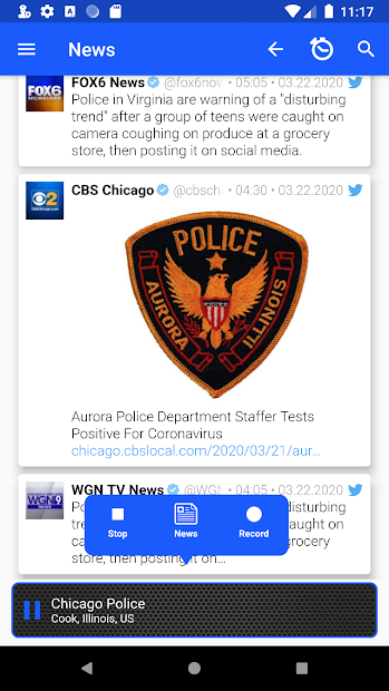 Police Scanner Radio Pro: New York screenshot 1
