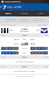 AFL Live Scores  For Pc (Windows 7, 8, 10 And Mac) 2