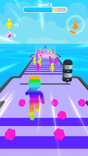 Giant Clash 3D – Join Color Run Race Rush Games 2