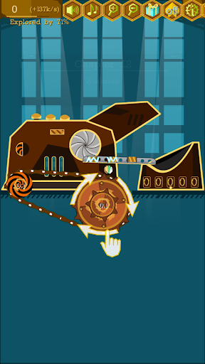 Steampunk Idle Spinner: Coin Factory Machines 1.9.3 screenshots 1