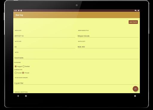 Homebrew Logbook - Beer, Wine, Cider, Mead 3.0.0-free screenshots 6
