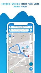 Live GPS Satellite View Maps & Voice Navigation 9