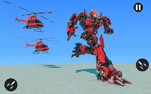 US Police Car Transform Robot War Rescue 2021 1.0.7 Screenshots 10