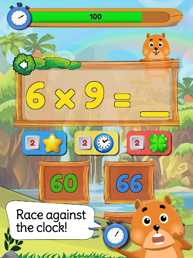 Times Tables: Mental Math Games for Kids Free  screenshots 12