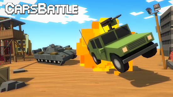 Tanks VS Cars Battle Screenshot